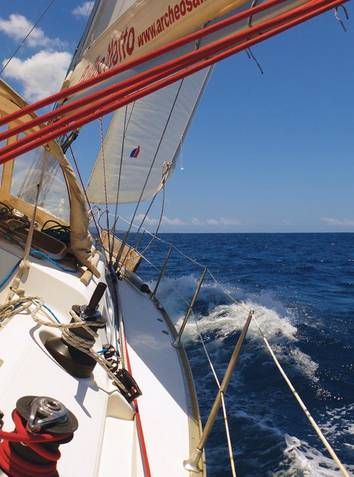 Archeosailing - Bulbo Matto e l'oceano